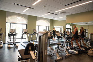 Seaside Residence Hall Gym - Pepperdine University