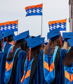 GSEP graduates at commencement