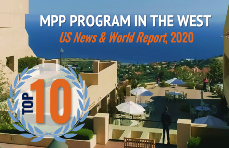 SPP Ranks Top 10 MPP Program in the West