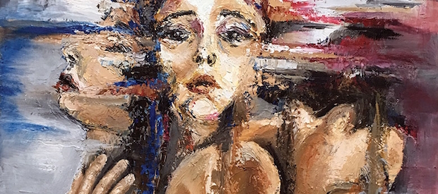 Many Faces painting by Tehya Braun