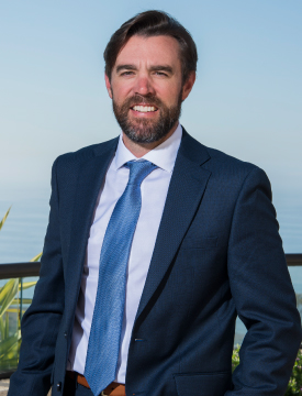 Chris L. Brown, a student in Pepperdine Graziadio Executive Doctorate in Business Administration