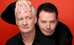 Whose Line is it Anyway? stars Colin Mochrie and Brad Sherwood