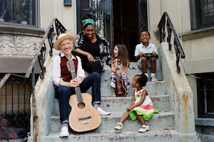 Dan Zanes and Claudia Eliaza