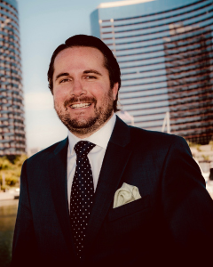 Jeremy Evans, MBA student and Caruso School of Law alum