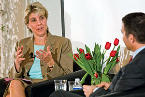 Linda A. Livingstone, dean of the Graziadio School of Business and Management