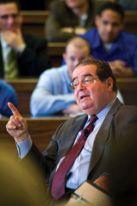 Antonin Scalia, associate justice of the United States