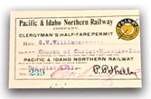 Half-fare Train Permits - Pepperdine Magazine