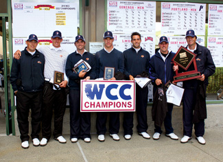 The 2009-2010 men's golf team - Pepperdine Magazine