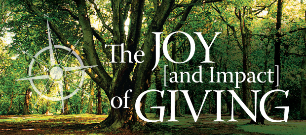The Joy and Impact of Giving