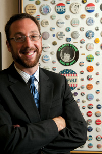 Lobbying Professor Matt Leighty