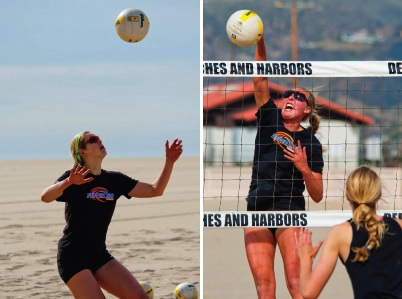 Summer Ross and Caitlin Racich - Pepperdine Magazine