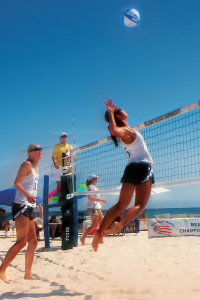 Sand Volleyball - Pepperdine Magazine
