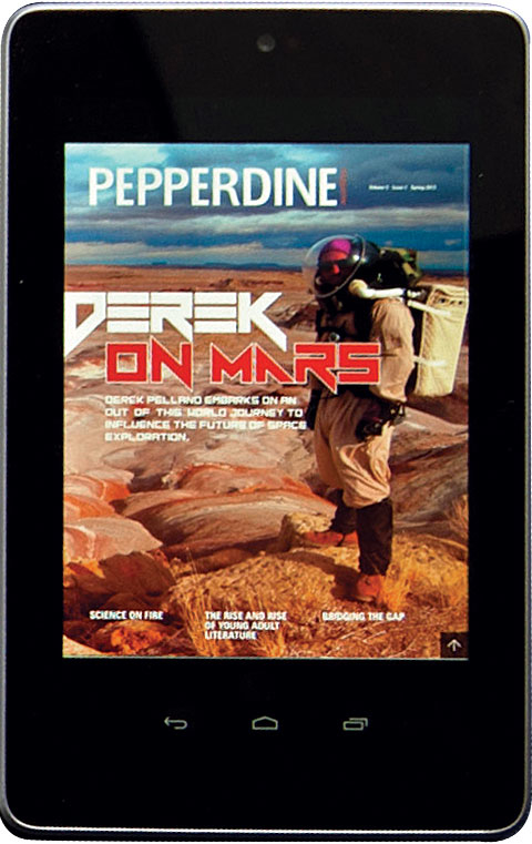 Pepperdine Magazine App