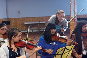 The Fervent Fiddler - Pepperdine Magazine