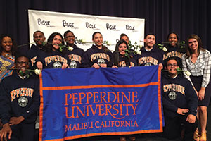 L.A. Posse 2 at the most recent Posse Scholar awards ceremony