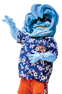 """Willie the Wave"" Mascot - Pepperdine Magazine"