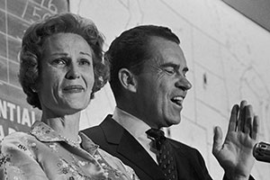 Pat and Richard Nixon