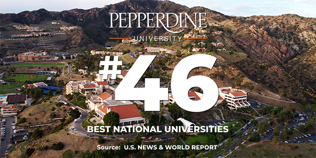 Pepperdine University Ranked 46 in U.S. News Best Colleges Rankings