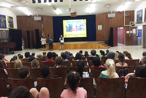 Pepperdine Graduate School of Education and Psychology Students Educate Portola Middle School About Bullying Prevention