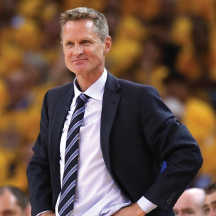 Steve Kerr, Golden State Warriors head coach