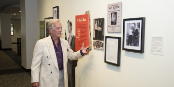 University Libraries Hosts Afternoon of Storytelling with Pat Boone