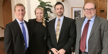 Kyser Blakely and Emily Sauer Nominated as Pepperdine Law's Outstanding Clinic Students