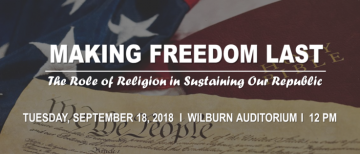 School of Public Policy Hosts Constitution Day: