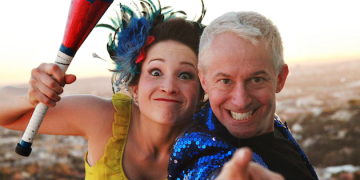 Kamikaze Fireflies Perform Vaudeville Act at Smothers Theatre
