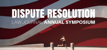 Dispute Resolution Law Journal Annual Symposium to Explore Implications of Rescheduled 2020 Olympics