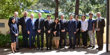 Pepperdine Law Signs MOU with Korean National Supreme Court