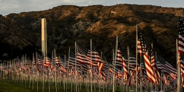 Pepperdine University Honors 9/11 Victims with 13th Annual Waves of Flags Display