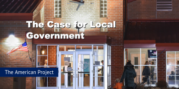 American Project @ SPP: The Case for Local Government