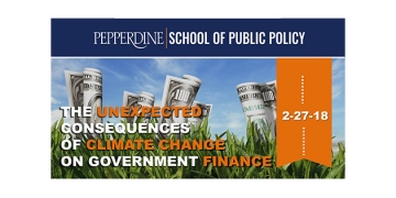 SPP Hosts Panel on Climate Change & Government Finance