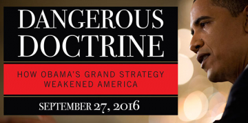 Dr. Robert Kaufman and Dr. Victor Davis Hanson to Discuss Obama's National Security Policy and Its Effect on U.S.