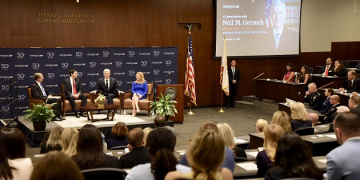 US Supreme Court Justice Neil Gorsuch Visits Pepperdine School of Law
