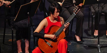 International Guitarist Meng Su Performs at Raitt Recital Hall