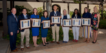 Pepperdine Professors Recognized with Howard A. White Award for Teaching Excellence