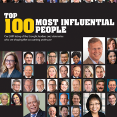 Dean Paul L. Caron Named in 100 Most Influential People In Tax And Accounting