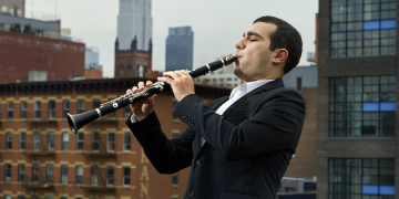 International Clarinetist Narek Arutyunian to Perform at Raitt Recital Hall