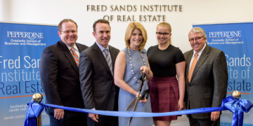 Pepperdine University Celebrates Launch of Fred Sands Institute of Real Estate with Ribbon Cutting Ceremony