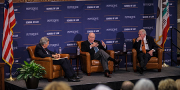 Dick Cheney, Ed Meese Reflect on US Vice Presidency at Law Review Symposium