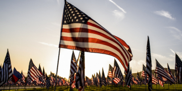 Eleventh Annual Waves of Flags Display Honors 9/11 Victims