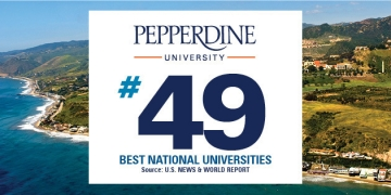 Pepperdine Maintains Standing as Top 50 University in 2021 U.S. News & World Report Rankings
