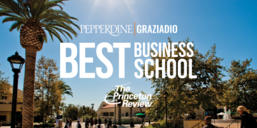 Pepperdine Graziadio Ranked Best Business School Once Again by The Princeton Review