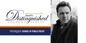 Renowned Historian Niall Ferguson on Applying History to Public Leadership for Inaugural SPP Dean's Distinguished Lecture