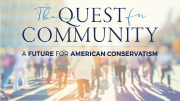 The Quest for Community Webinar 4: American Identity Post 2020 Elections