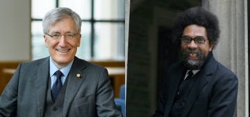 Robert George and Cornel West Discuss Current Political Climate Through Lens of Humility and Hope at Inaugural President's Speaker Series Event
