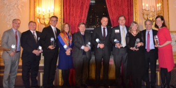 Global Finance Thinktank Honors NIPF and Founding Faculty