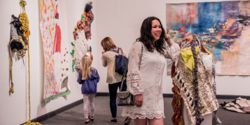 Art Students Showcase Original Works at Weisman Museum