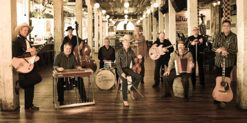 Western Swing Band The Time Jumpers to Perform at Smothers Theatre